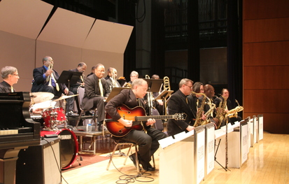 Jazz heritage orchestra tribute to wendell logan for Heritage orchestra